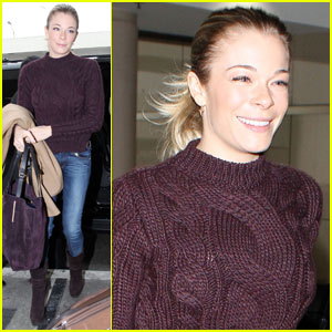 LeAnn Rimes: Ready for Turkey Day!