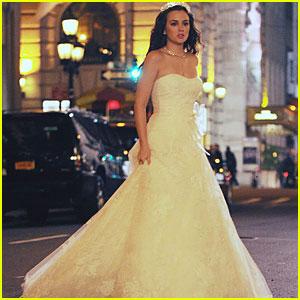 Leighton Meester: Wedding on Gossip Girl!