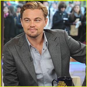 Leonardo DiCaprio: Good Morning, America!