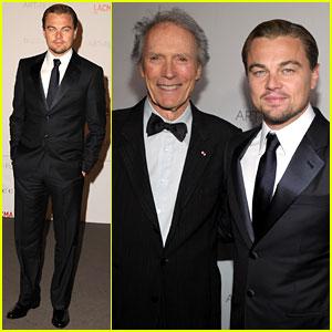 Leonardo DiCaprio: LACMA Gala with Clint Eastwood!