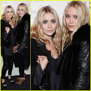 Mary-Kate & Ashley Olsen: Christian Louboutin Cocktail Party!