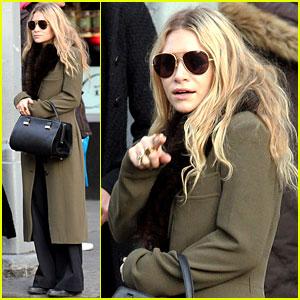 Mary-Kate Olsen: Bundled Up in the East Village