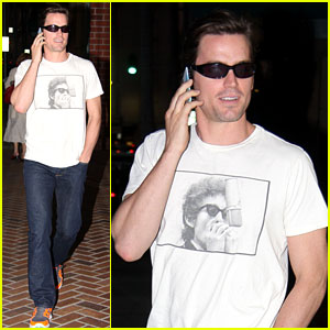 Matt Bomer: I Put On My 'Magic Mike' Thong Wrong!