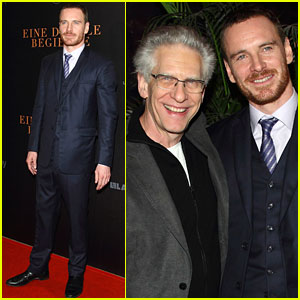 Michael Fassbender: 'Dangerous Method' Premiere in Germany!