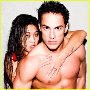 Michael Trevino: Shirtless with Jenna Ushkowitz!