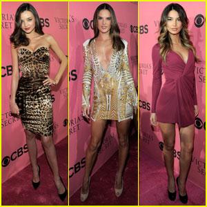 Miranda Kerr & Alessandra Ambrosio: VS Viewing Party!