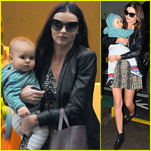 Miranda Kerr & Flynn: Dinner in NYC!