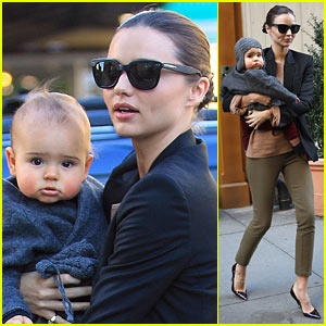 Miranda Kerr: Fun Flynn Saturday!