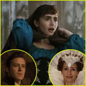 Lily Collins & Julia Roberts: 'Mirror, Mirror' Trailer!