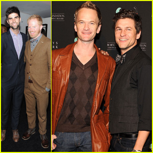Neil Patrick Harris & David Burtka: Lady Gaga's Workshop Launch!