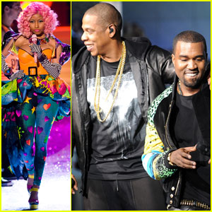 Nicki Minaj, Kanye West & Jay-Z - VS Fashion Show 2011