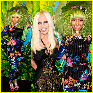Nicki Minaj: Versace for H&M Party Performer!