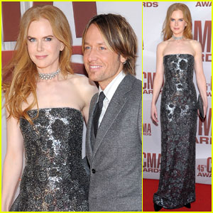 Nicole Kidman & Keith Urban - CMA Awards 2011 Red Carpet