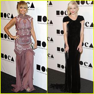 Jaime King & Nicole Richie: MOCA Gala!