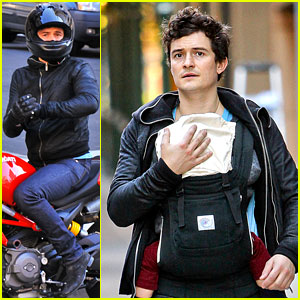 Orlando Bloom & Flynn: Father-Son Saturday!