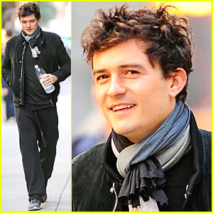 Orlando Bloom: Tuesday Morning Workout