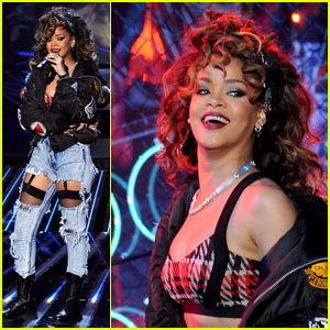 Rihanna: 'We Found Love' on 'X Factor'!