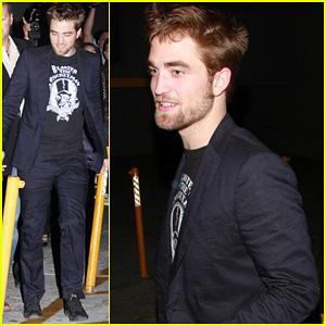Robert Pattinson: 'Jimmy Kimmel Live!' Visit