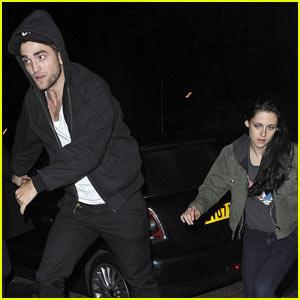 Robert Pattinson & Kristen Stewart: Marcus Foster Concert!