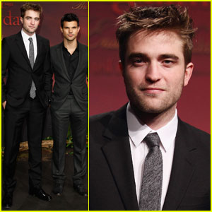 Robert Pattinson & Taylor Lautner: 'Breaking Dawn' in Berlin!
