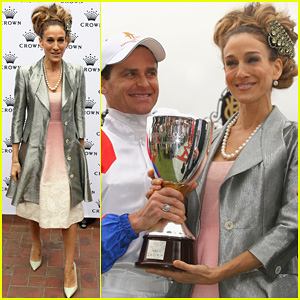 Sarah Jessica Parker: Crown Oaks Day!