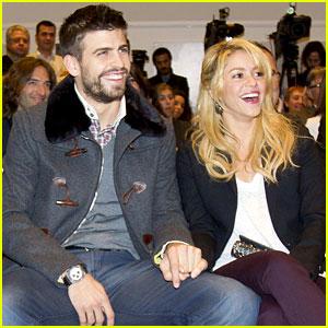 Shakira & Gerard Pique: Book Launch Lovebirds!