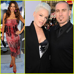 Sofia Vergara: 'Happy Feet Two' Premiere with Pink!