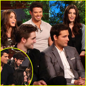Twilight Cast: 'Breaking Dawn' on Ellen!