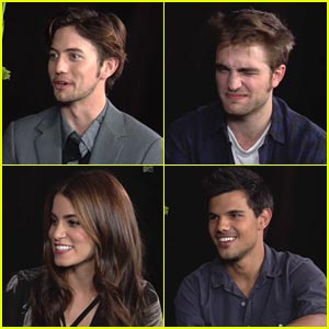 'Breaking Dawn' Cast Plays Yes/No Game with MTV