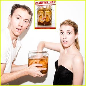 Emma Roberts: Tyler Shields is the 'Smartest Man'!