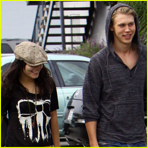Vanessa Hudgens & Austin Butler: Lunch in L.A.