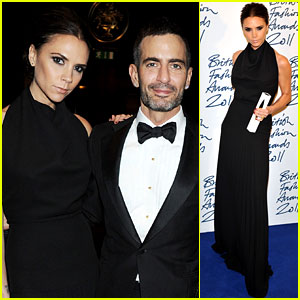 Victoria Beckham: British Fashion Awards Winner!