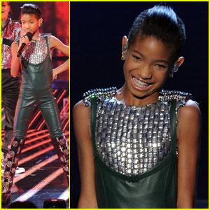 Willow Smith: 'Fireball' on 'X Factor'!