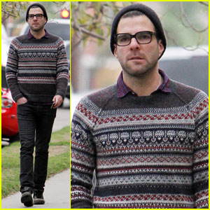 Zachary Quinto: Check Out Periods' Latest Video!