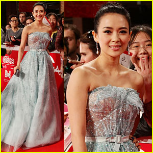 Ziyi Zhang: 'Love For Life' Premiere in Rome!