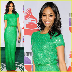 Zoe Saldana: Latin Grammys in Las Vegas