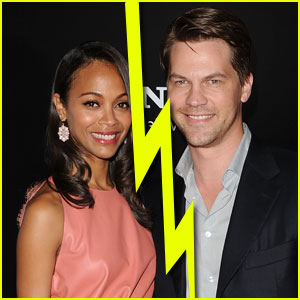 Zoe Saldana & Fiance Keith Britton Split