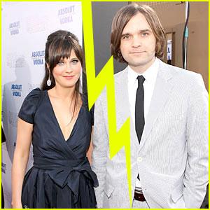 Zooey Deschanel & Husband Ben Gibbard Separate