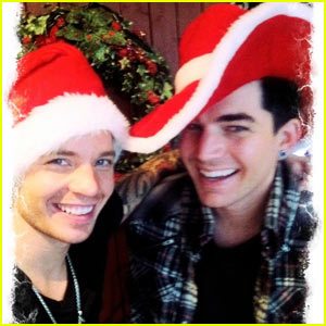 Adam Lambert: Christmas Eve with BF Sauli Koskinen's Family!
