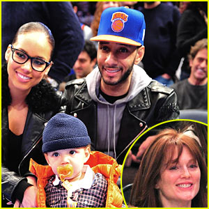 Alicia Keys & Julianne Moore: Knicks Game on Christmas! | Alicia ...