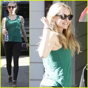 Amanda Seyfried: Birthday Stroll with Finn!