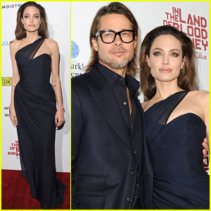 Angelina Jolie & Brad Pitt: 'Blood & Honey' LA Premiere!