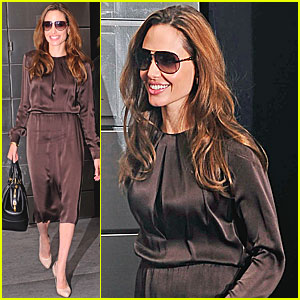 Angelina Jolie: 'In the Land of Blood & Honey' Junket in NYC!