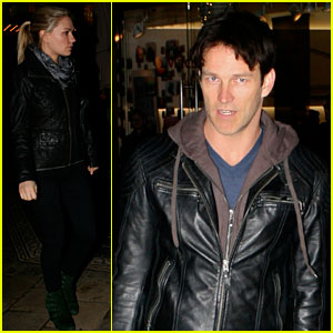 Anna Paquin & Stephen Moyer: Late Night Grove Trip!