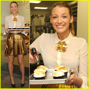 Blake Lively: Sprinkles Cupcakes for Charity!