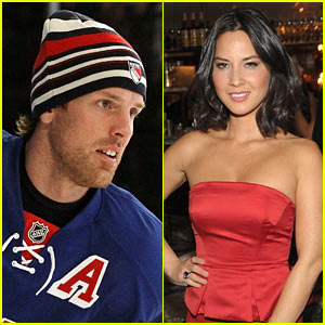 Brad Richards: Olivia Munn is a Good Luck Charm!