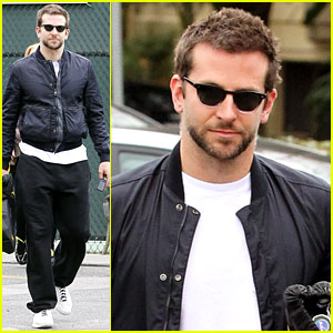 Bradley Cooper Plays Tennis with Mom