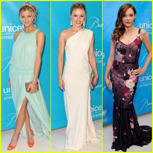Brooklyn Decker & Kristen Bell: UNICEF Ball!