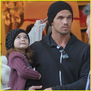 Cam Gigandet Pottery Barn Kids With Everleigh Cam