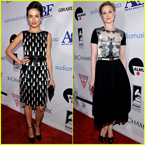 Camilla Belle: Andrea Bocelli Launch with Evan Rachel Wood!
